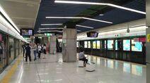 Shenzhen Metro Line 1 Qiaocheng E Sta Platform