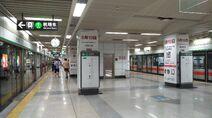 Shenzhen Metro Line 1 Shopping Park Sta Platform 20180612 2