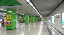 Shenzhen Metro Line 1&5 Bao'an Center Sta Concourse