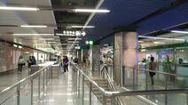 Shenzhen Metro Line 1 Qiaocheng E Sta Concourse