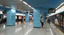 Shenzhen Metro Line 1 Qianhaiwan Sta Platform