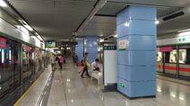 Shenzhen Metro Line 1 Xin'an Sta Platform