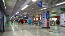 Shenzhen Metro Line 1 Shopping Park Sta Concourse 20180612