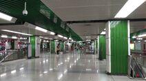 Shenzhen Metro Line 1 Zhuzilin Sta Concourse 20180612
