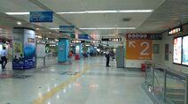 Shenzhen Metro Line 4 Civic Center Sta Concourse 20180612