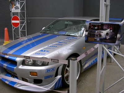 Nissan Skyline - 2 Fast 2 Furious