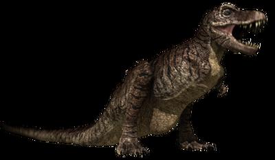Tyrannosaur jurassic fight club