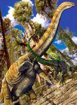 Supersaurus vs. Torvosaurus
