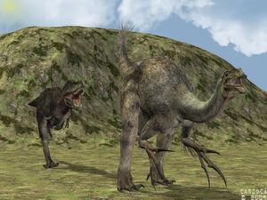 Tyrannosaurus bataar 3