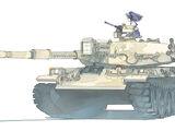 Alsuyuf II Main Battle Tank
