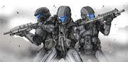Pattern 2019 Infantry Armour (Kyrenaian)