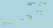 Northern Islands - Karte