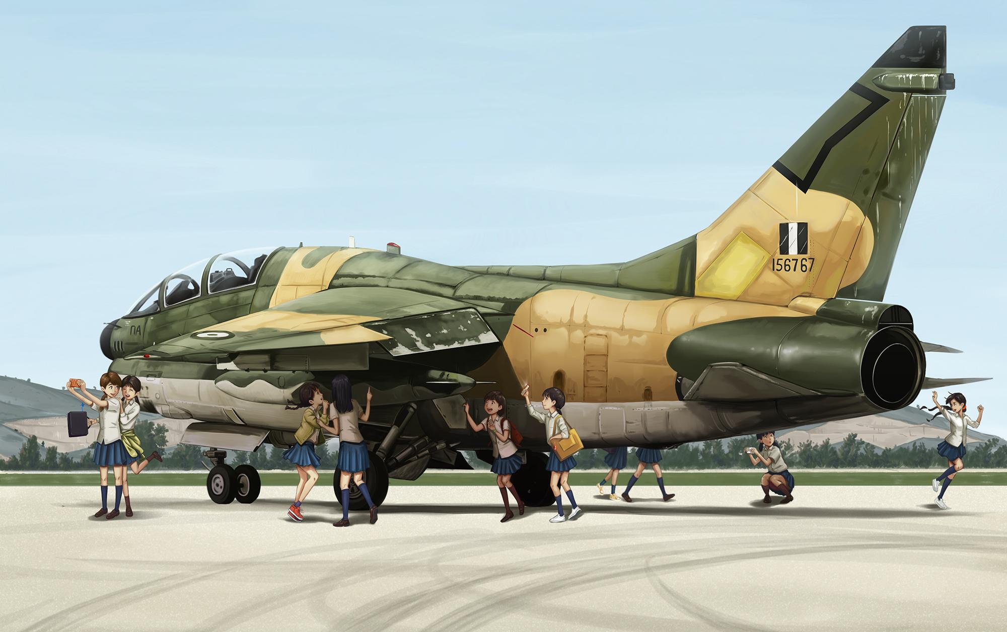 Kyrenaian Aircraft Factories KAF-9 Kaman Ground Attack