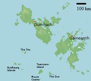 Karte - Tearmann Island