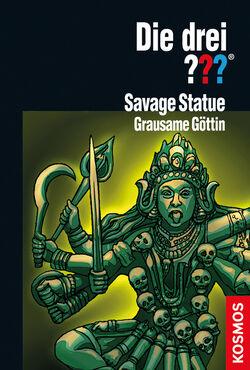 Savage statue grausame göttin drei??? cover