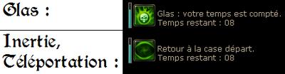 Glas, Inertie