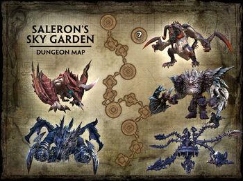 Saleron's Sky Garden Walkthrough