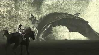 Shadow of the Colossus Dirge Boss Fight 10 on PS3
