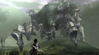 Shadow of the Colossus Phaedra Boss Fight 4 on PS3