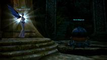 Velik's Dream - Mystel at Fountain of Shara