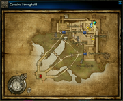 Corsairs' Stronghold map