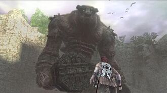 Shadow of the Colossus Valus Boss Fight 1 on PS3