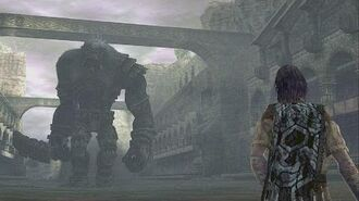 Shadow of the Colossus Argus Boss Fight 15 on PS3