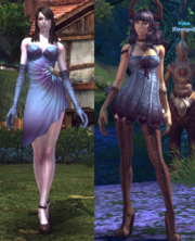 Lymei's robe compare