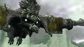 Shadow of the Colossus Avion Boss Fight 5 on PS3