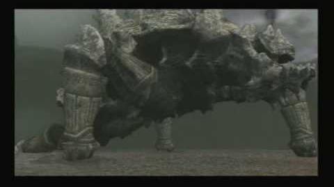 Shadow of the Colossus - Ninth Colossus Basaran