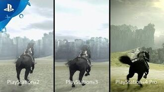 Shadow of the Colossus - PSX 2017 Comparison Trailer PS4