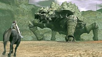 Shadow of the Colossus Basaran Boss Fight 9 on PS3