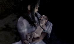 Horned-child