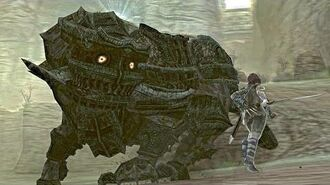 Shadow of the Colossus Celosia Boss Fight 11 on PS3
