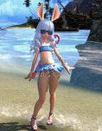 Elin Swimsuit Blue