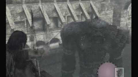 Shadow of the Colossus - Fifteenth Colossus Argus