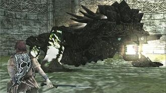 Shadow of the Colossus Kuromori Boss Fight 8 on PS3