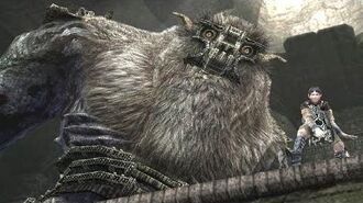 Shadow of the Colossus Barba Boss Fight 6 on PS3