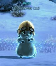 Kron Christmas Cat