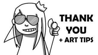THANKS FOR 10K + Art Tips (Ft. Chilly Panda)