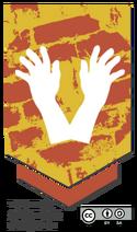 Crest shaking-hands