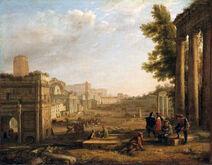 Campo-Vaccino Claude-Lorrain 1636