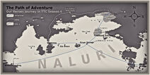 TTC Season 4 - Travel Map of Naluri