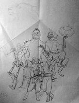 Fanart s2-PCs sketch byWishbit