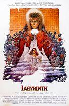 Poster labyrinth1986