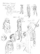 Fanart studies Kallas-Boone-Cyrus byWishbit