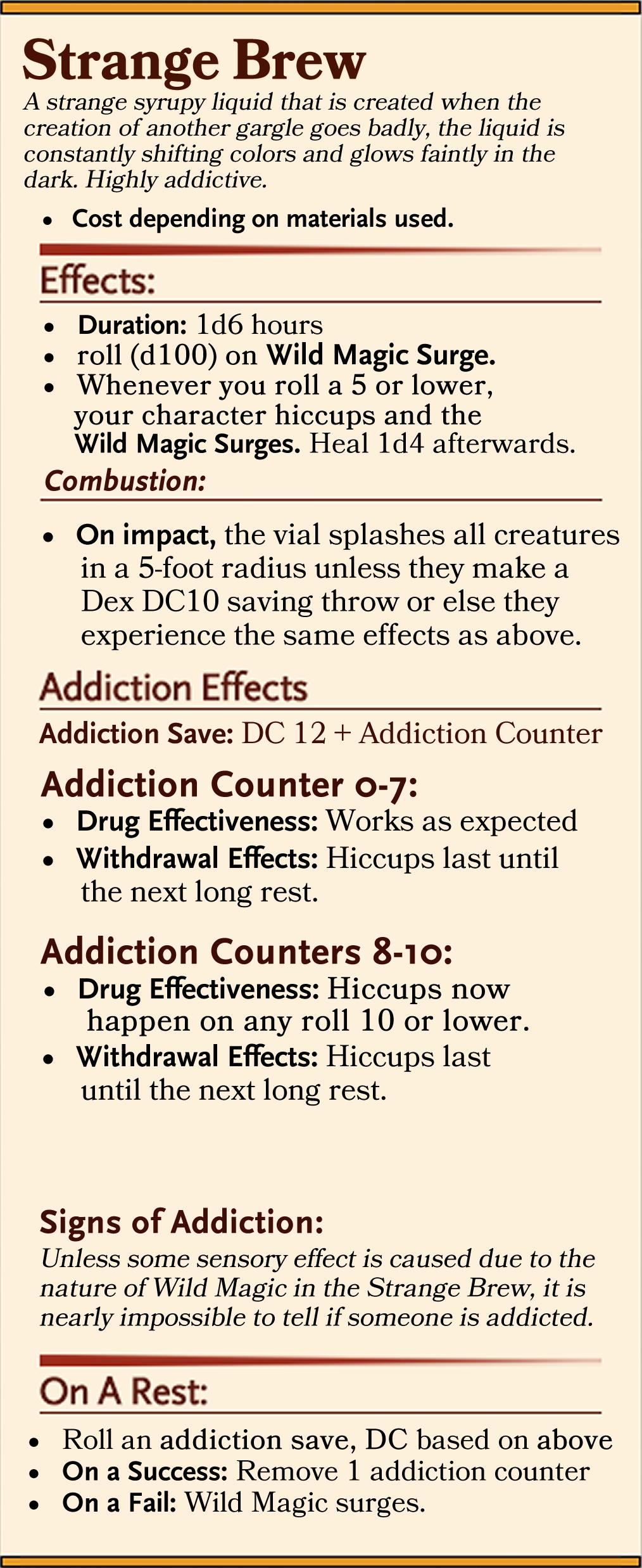 D100 Effects