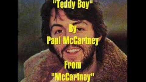 """""""Teddy Boy"""" By Paul McCartney"""