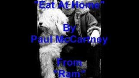 """""""Eat At Home"""" By Paul McCartney"""