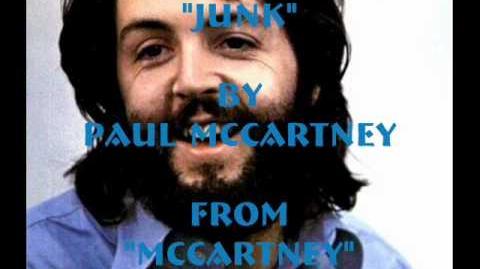 """""""Junk"""" By Paul McCartney"""